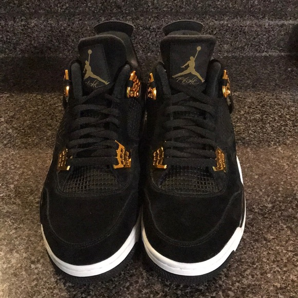 542e755ff9c794 Jordan Other - Black and gold Jordan 4s